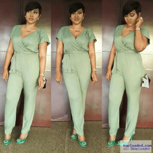 Photos: Mercy Aigbe-Gentry Steps Out In Lovely Jumpsuit
